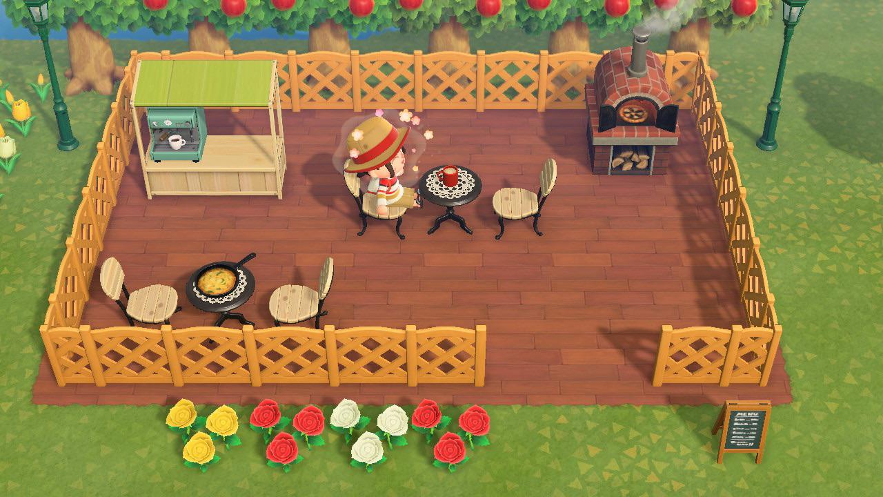 Simple Outdoor Cafe Animalcrossing