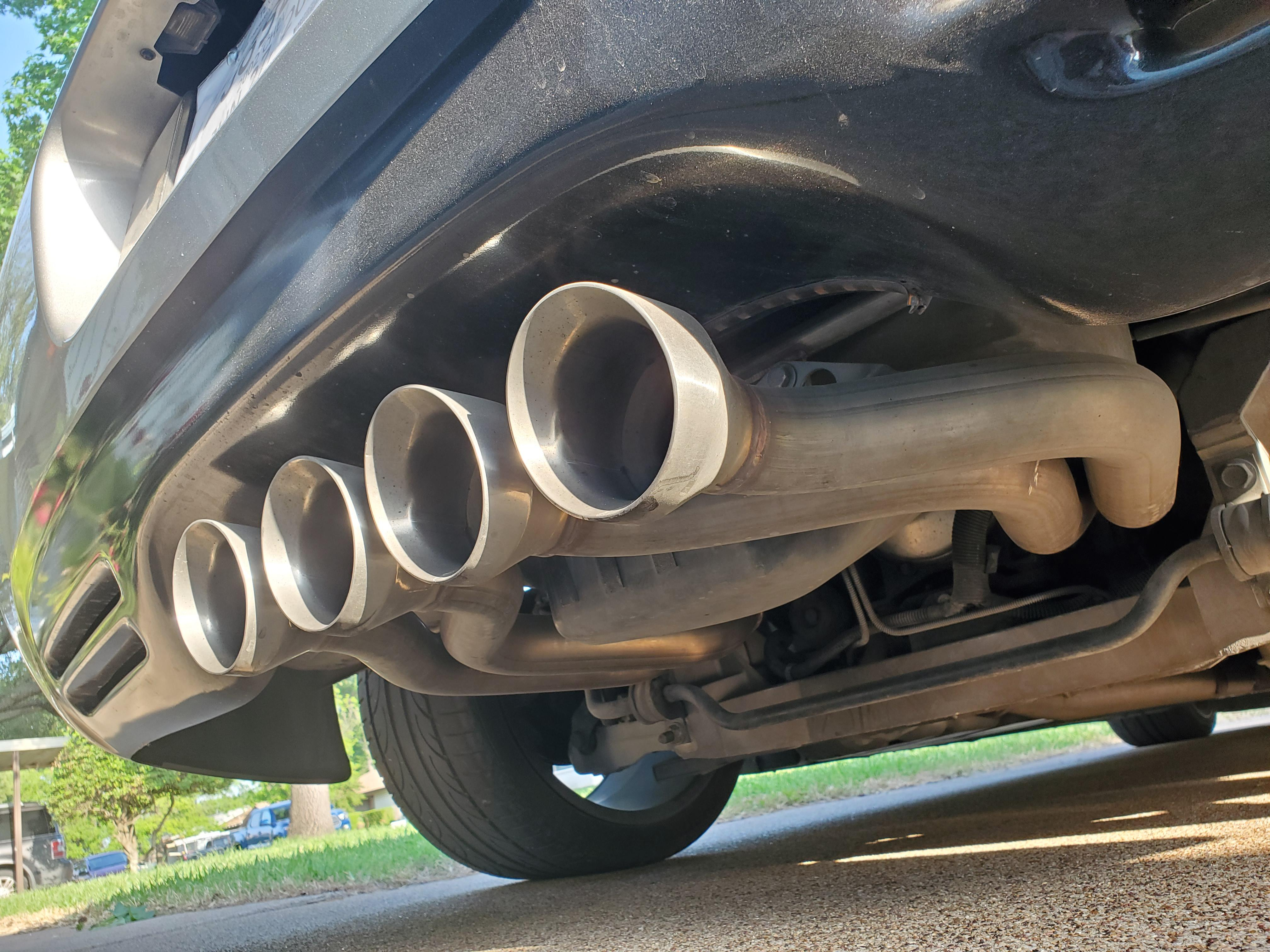 c5 exhaust for