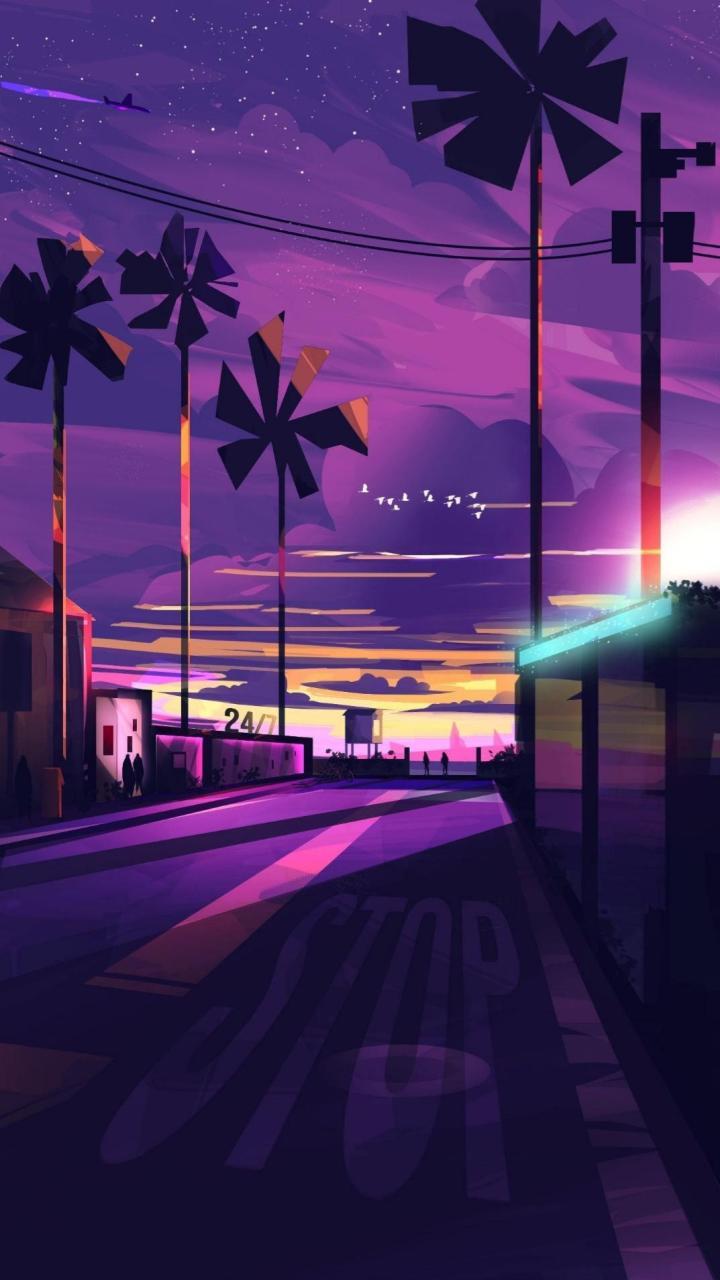Vice sunset 1