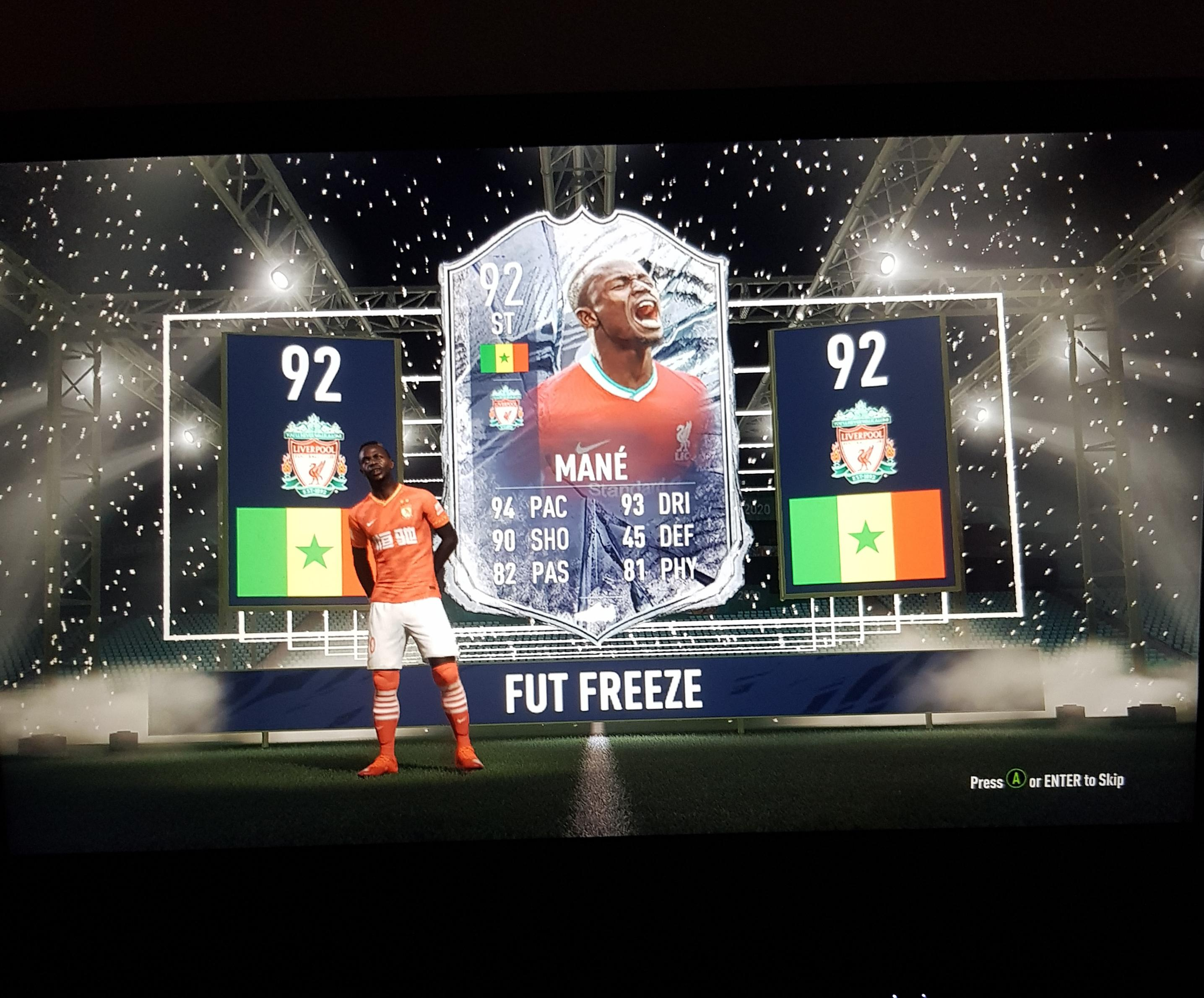 83 x25 pack fifa21