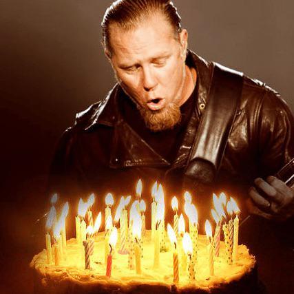 Happy Birthday James Metallica