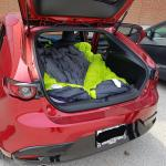 Car Camping For Two Inside The 2019 Hatch Mazda3