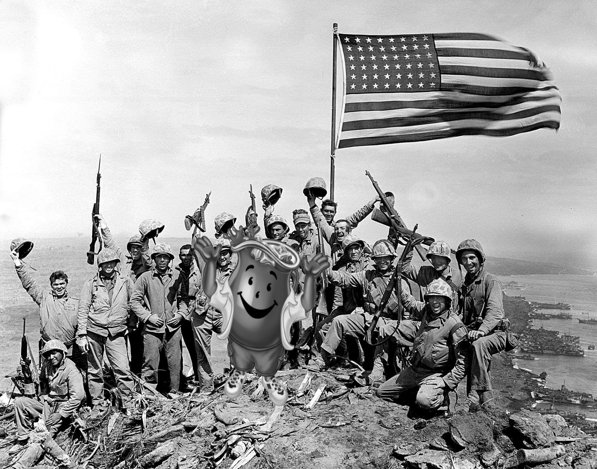 Brave American Victory Ww2 Wait A Min Unexpectedkoolaidman