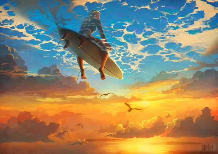 The Beautiful World by Artem Chebokha. [1300×919]