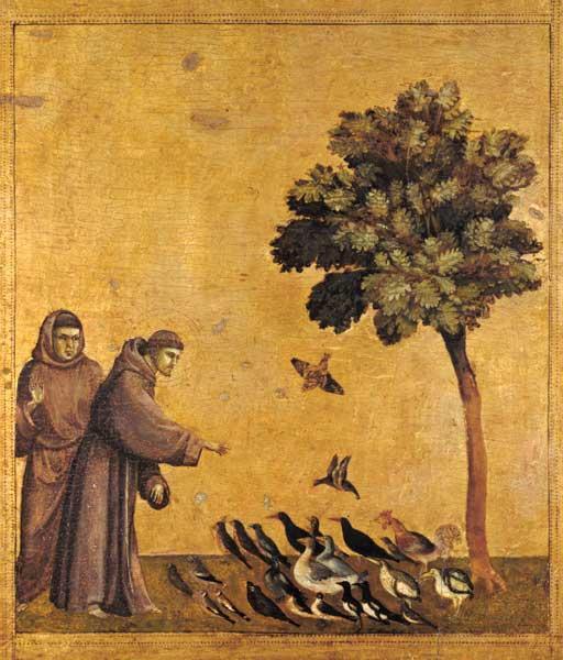 Watercolor St Francis