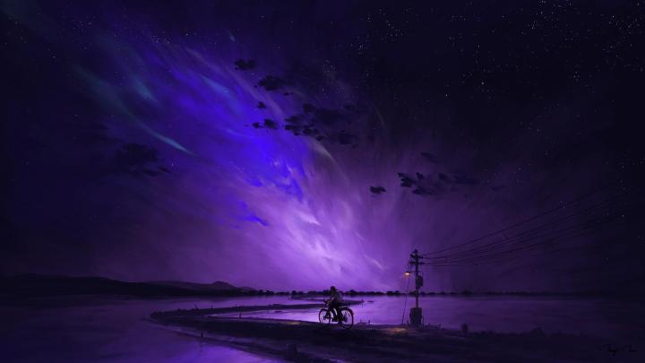 [3840×2160] Neon Wild West