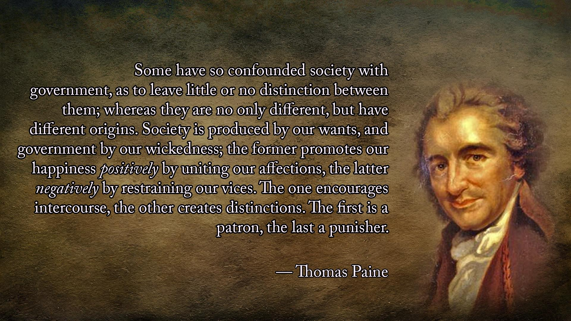 A Nice Thomas Paine Quote From The Introduction Of Common