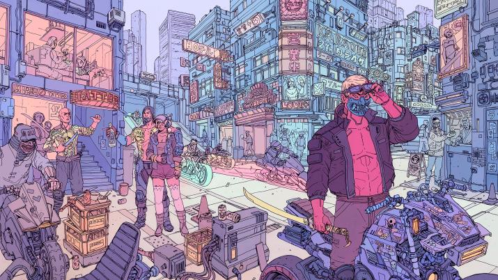 Cyberpunk Tyger Claws [2560 x 1440]