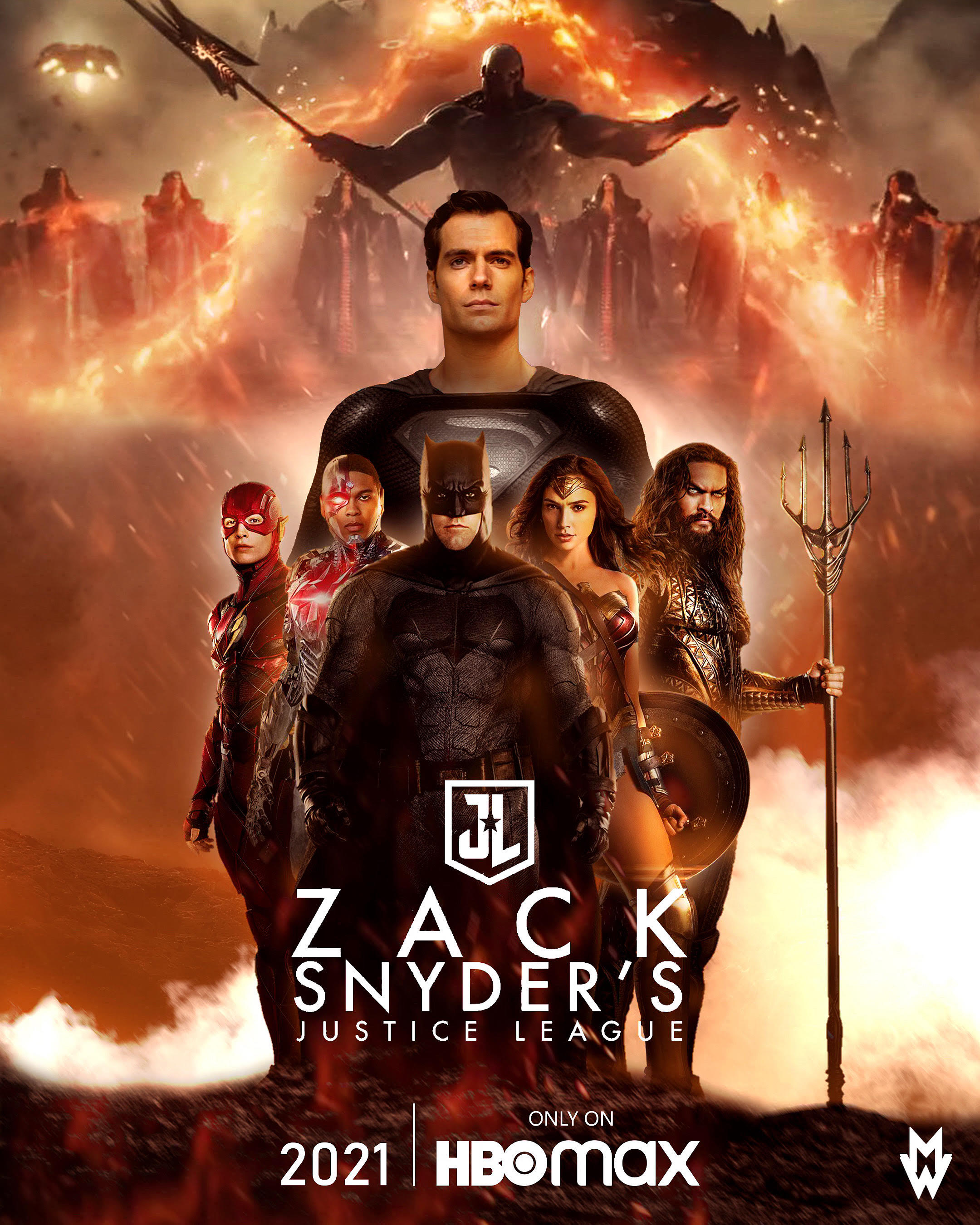 zack snyder s justice league poster