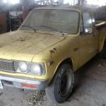 It S Literally The Definition Of A Barn Find 1974 Chevy Luv Inside A Barn On Our Farm Trucks
