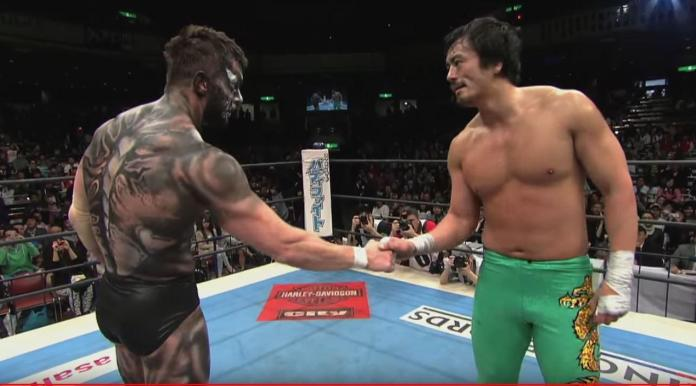 That time, where Prince Devitt and Taguchi had a rather fierce rivalry. : SquaredCircle