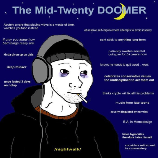 What Is A Doomer Gloomer Zoomer And Bloomer 4chan Doomer Memes