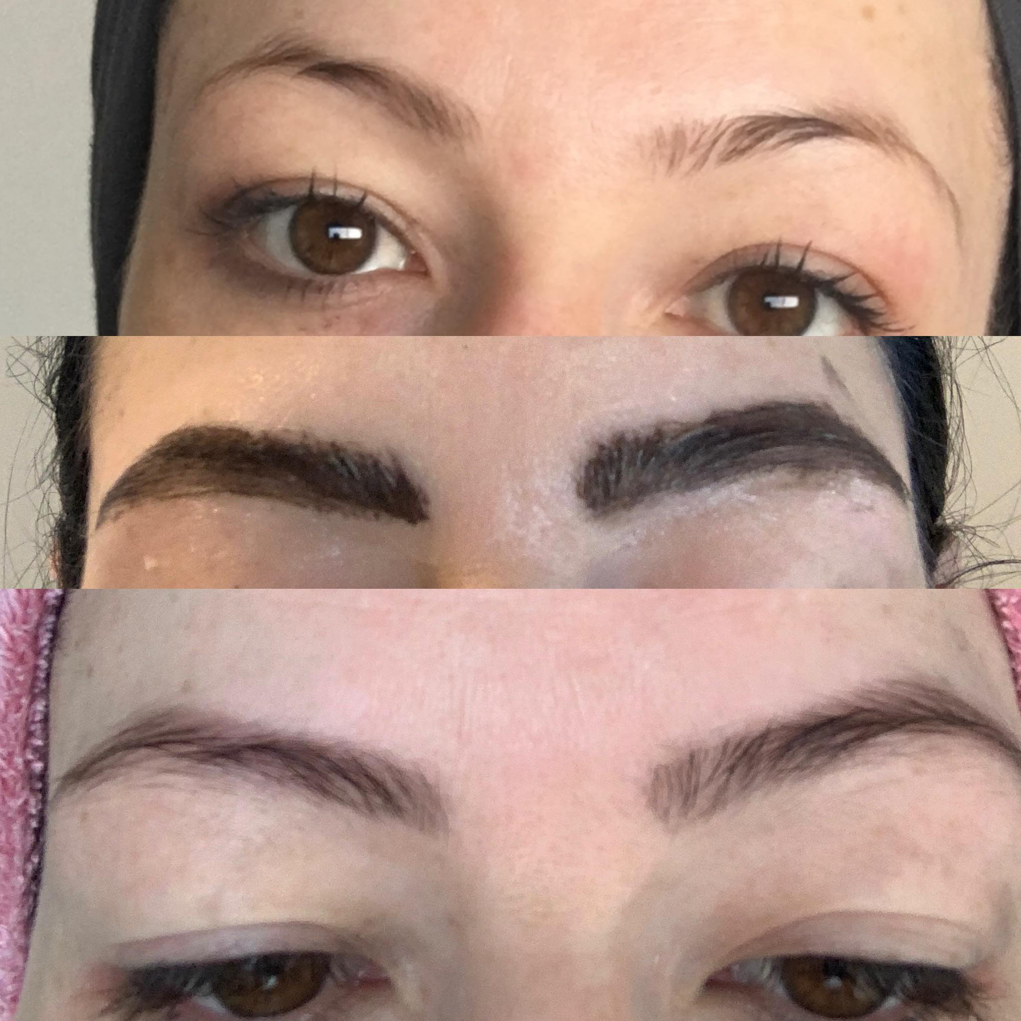 I Ve Always Had Thin Sparse And Light Eyebrows And Filling Them In On The Daily Is Tiresome So I Tinted Them At Home With Beard Dye And The Results Are Awesome