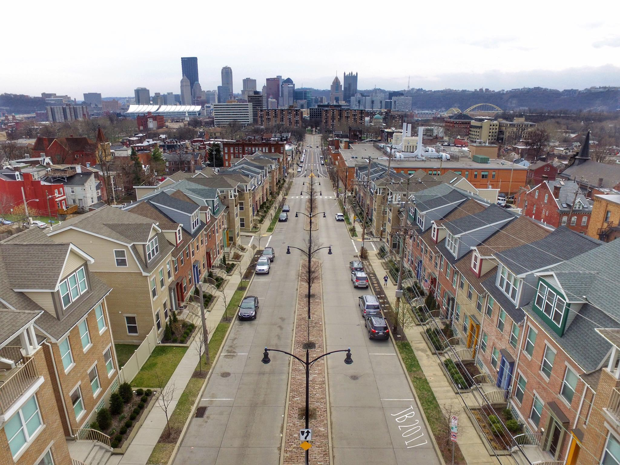 Pittsburgh Federal Side Street North