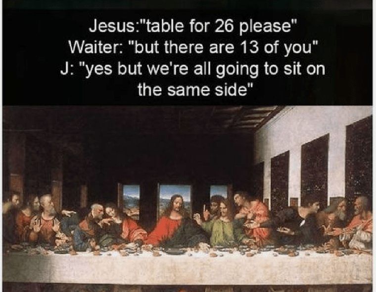 Table For 26 Please Meme