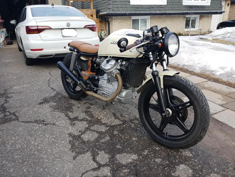 1979 Honda Cx500 Cafe Racer Thoughts