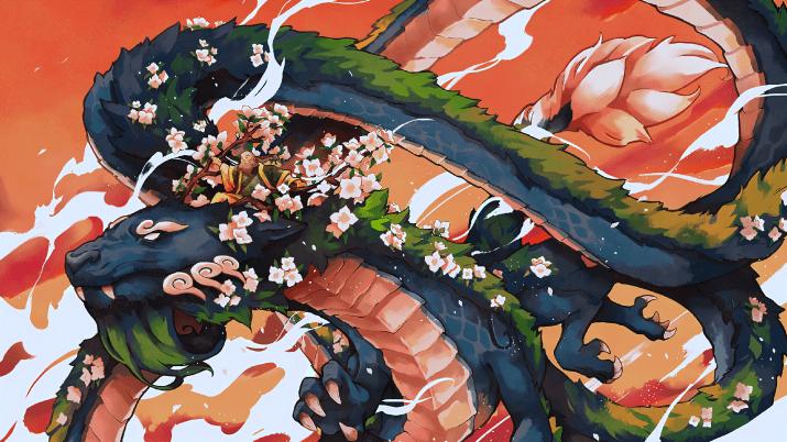 Iroh and the Jasmine Dragon [2560×1440]