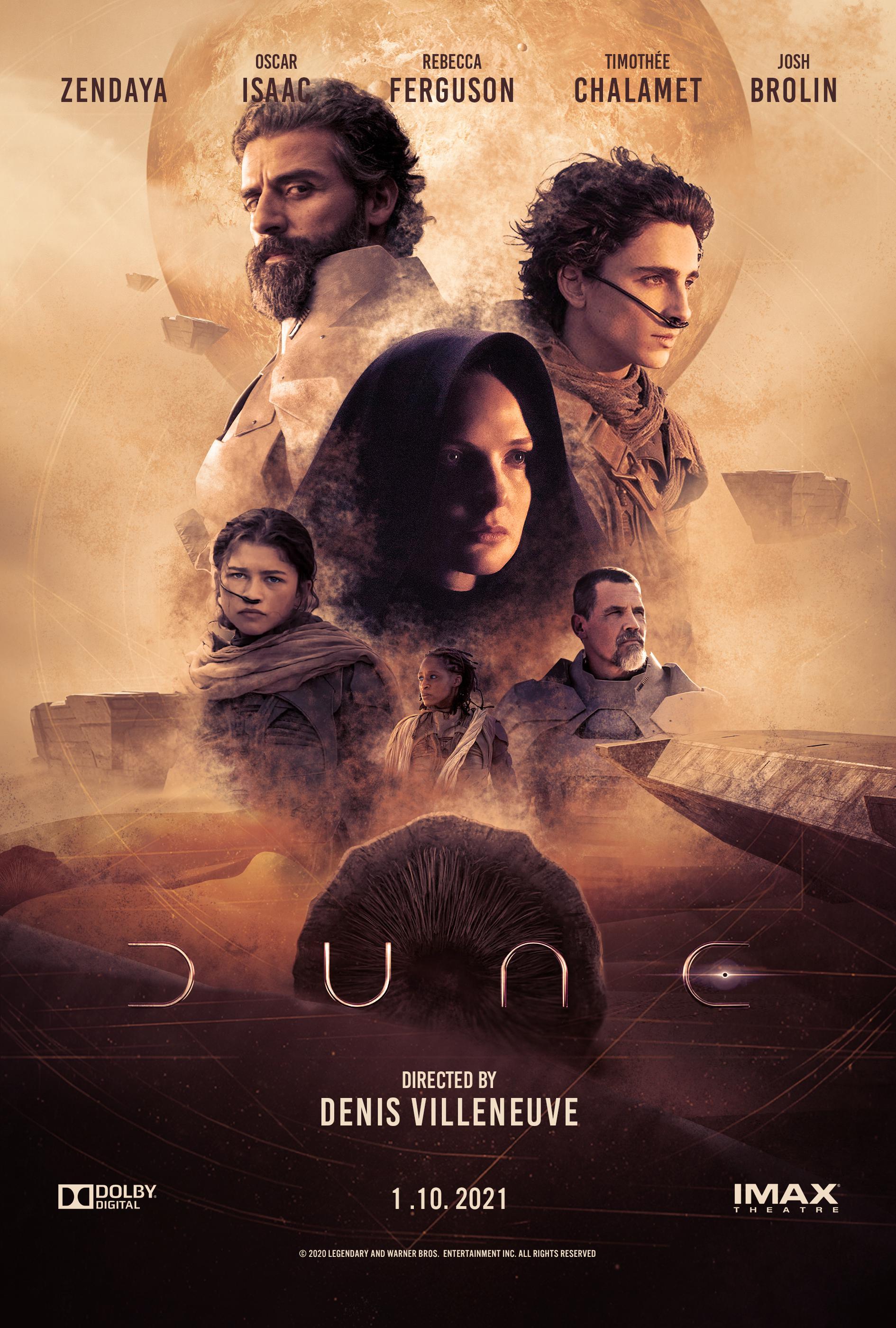 dune 2021 movie poster dune