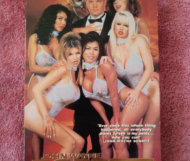 Vhs Cover To John Wayne Bobbitt Uncut One Of Three Porn Vids John Did After His First Wife Lorena Cut His Penis Off Due To Marital Abuse Issues