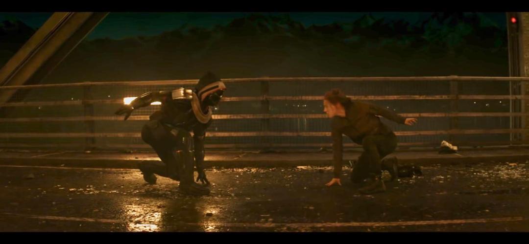 new Black Widow trailer