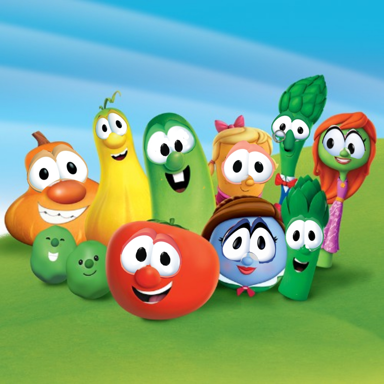 Fixed The Veggietales In The House Designs Veggietalesmemes