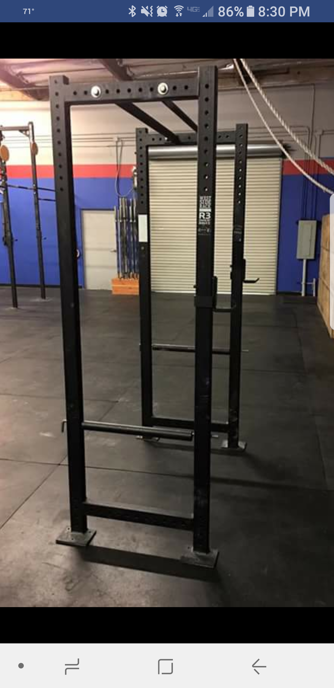 my old crossfit gym is selling this for