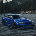 Nissan R34 Aka Godzilla The Best Designs And Art From The Internet