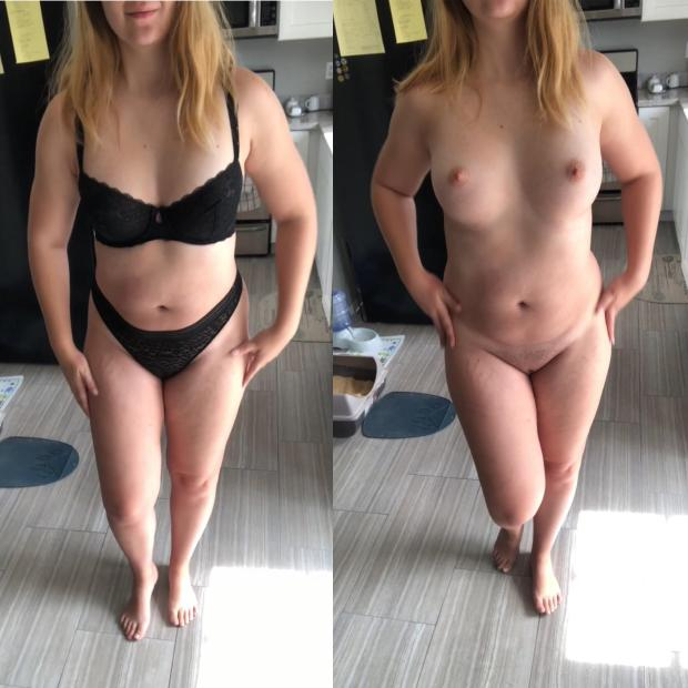 4mfyffyrjey21 - I wear black when I [f]eel bad. 😈😇 Nude Selfie
