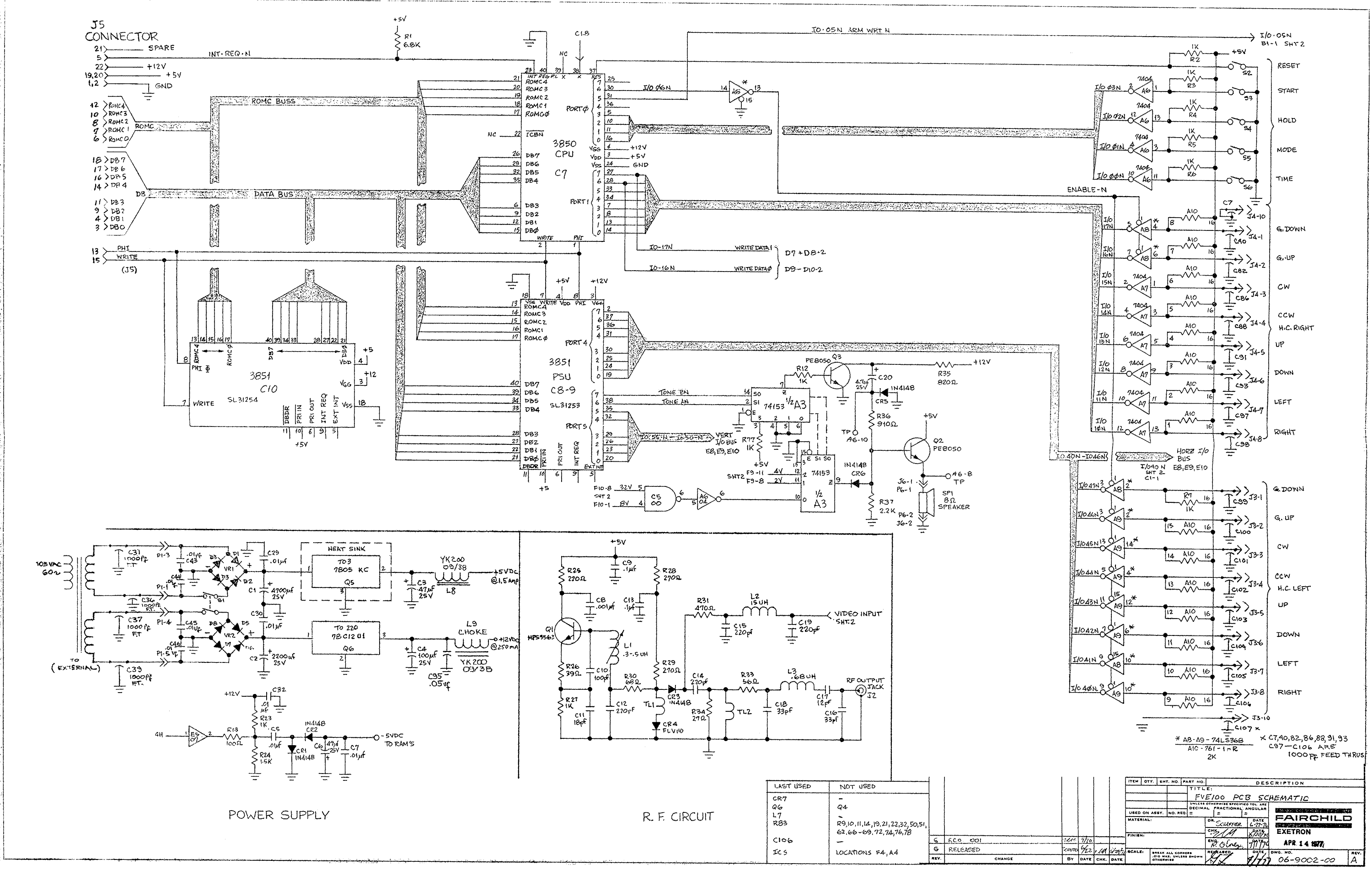 Schematic Channelf