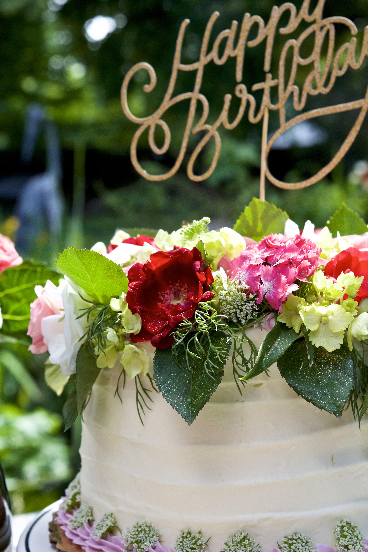Birthday Bouquet Cake