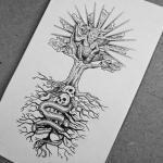 Tree Of Life Tattoo Design I Made Lsd