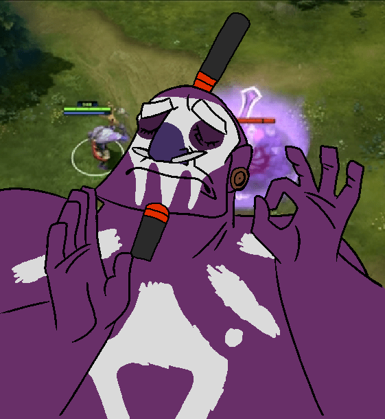When The Witch Doctor Meme Hits The Frontpage Just Right Dota2