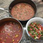 Homemade Trio Pico Fresh Tomato Restaurant Style Salsa Salsasnobs