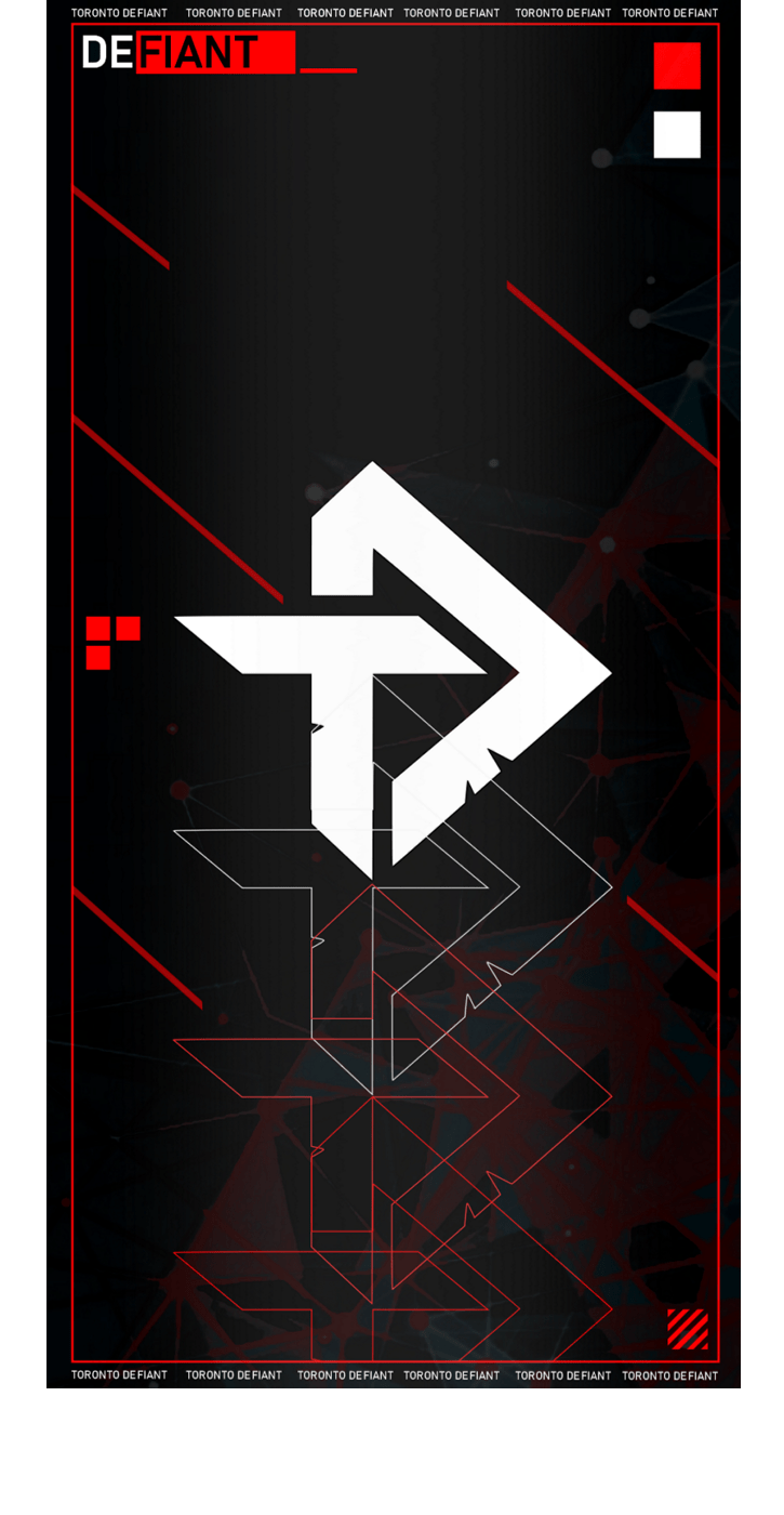 Toronto Is A Team Im Gonna Be Going For This Season So Decided I Would Show The Defiant Family Some Love Custom Phone Wallpaper Should Be Able To Fit Most Screens With