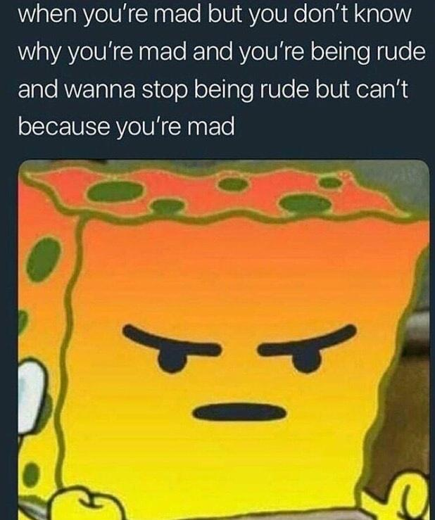 You Mad Bro Yeah I Think You Re Mad It S Okay I Understand