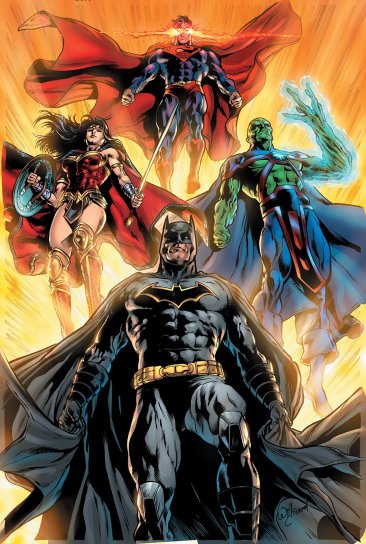 justice league 16 variant cover