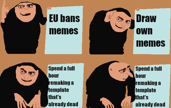 Eu Banned Memes That Are Drawn Will Make Crazy Profits Memeeconomy