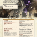 Champions Of Runeterra 5e Conversion Alistar The Minotaur Unearthedarcana