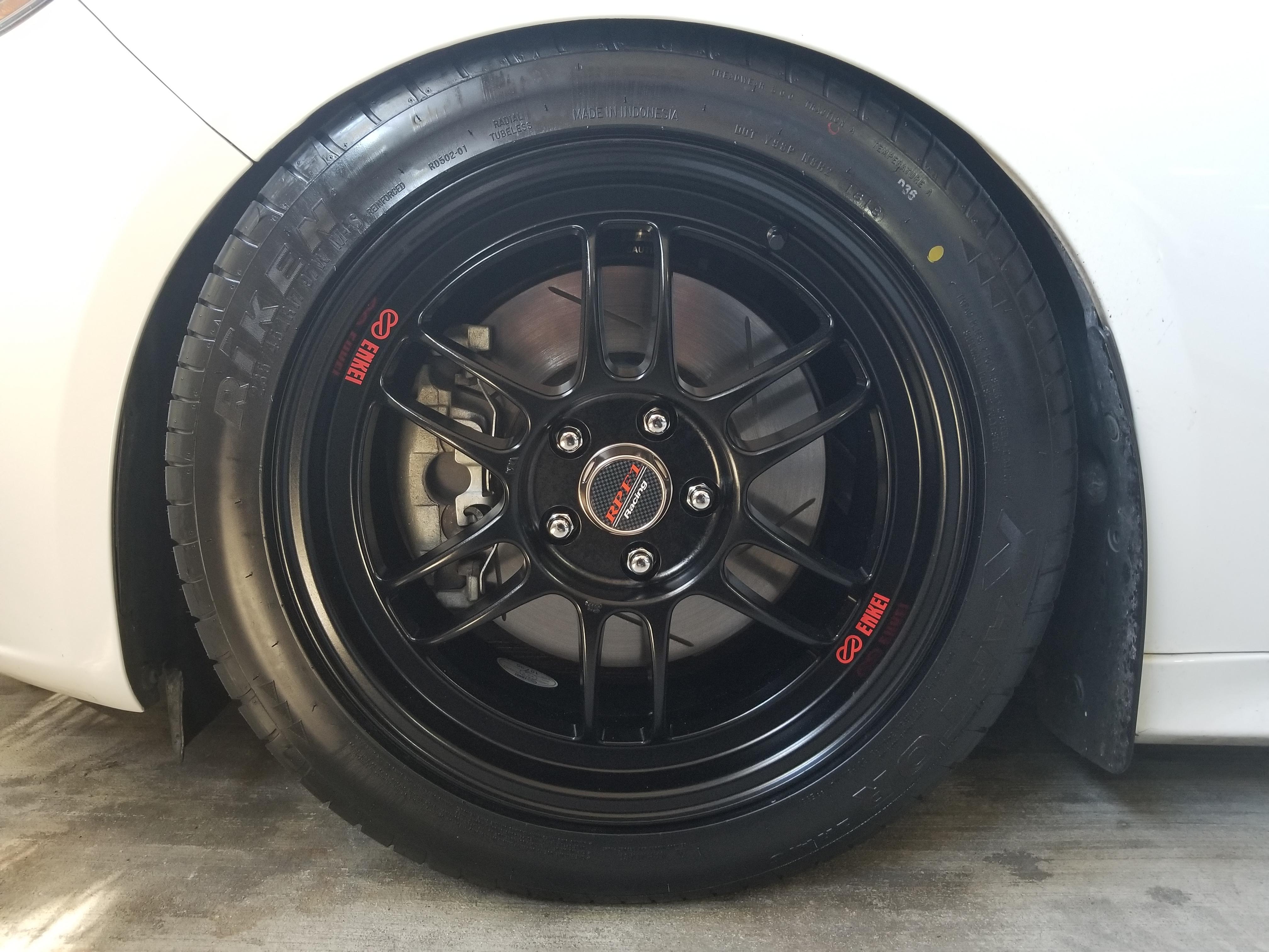 wheels who dis enkei rpf1 17x8 my