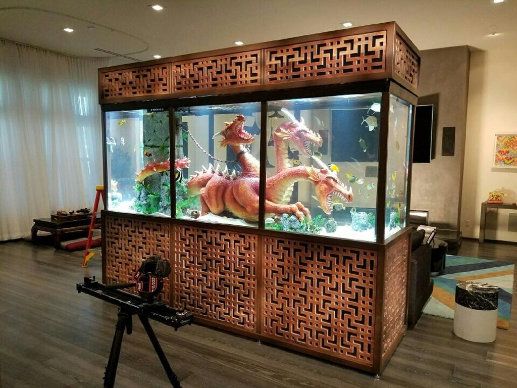 Steve Aokis Custom Fish Tank That Was Featured On Television Accidentalswastika
