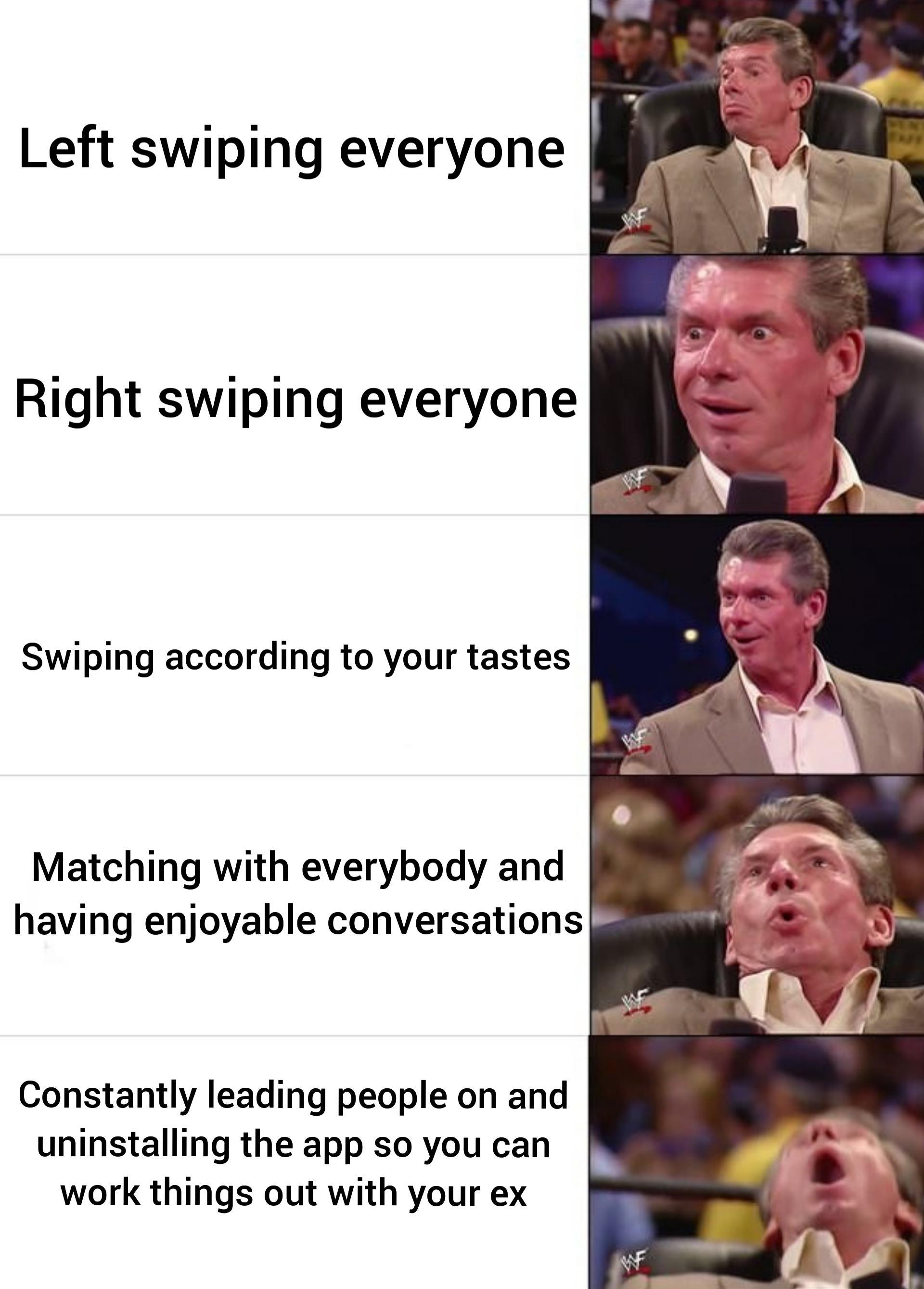 Tinder Trash Meme