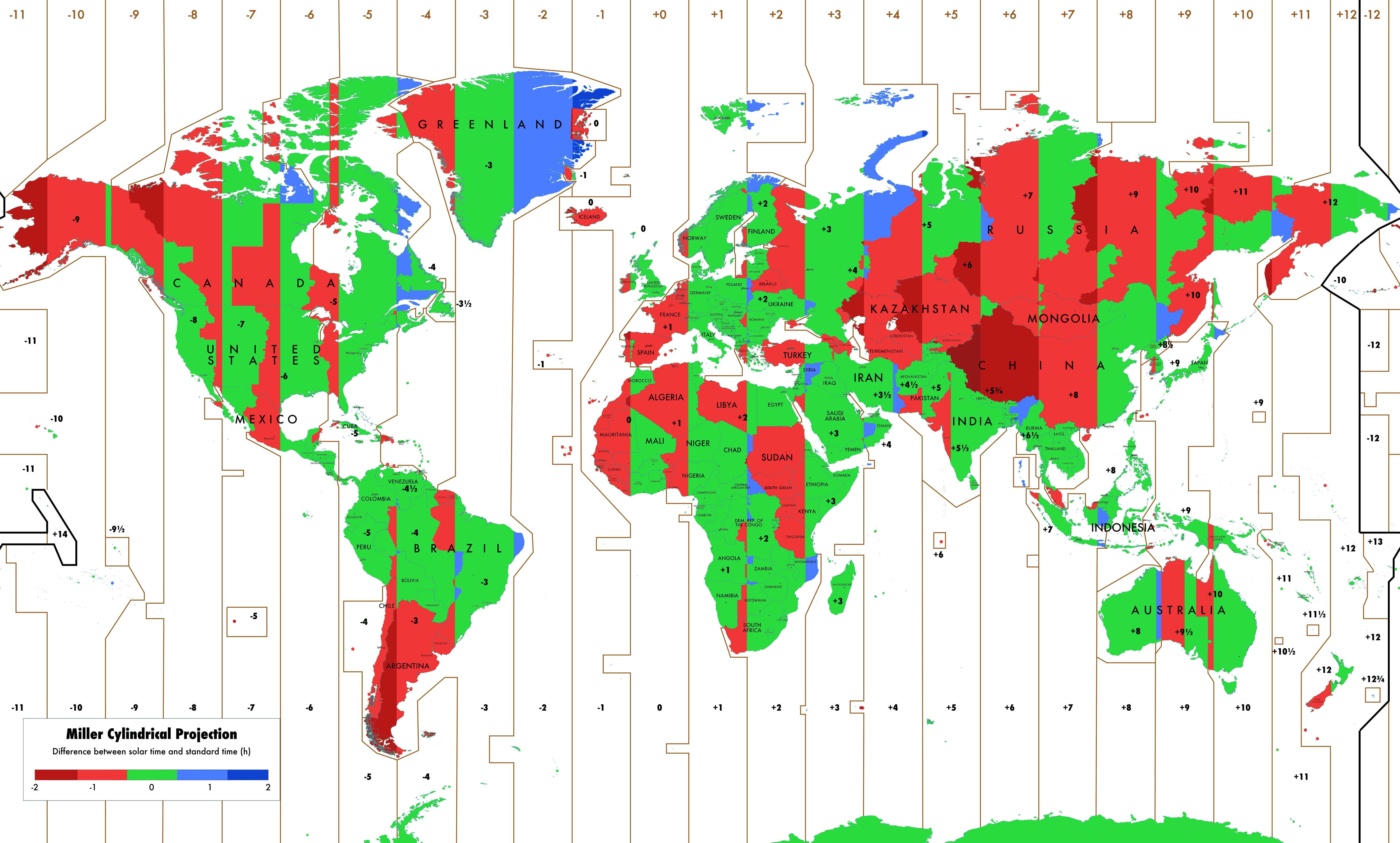 Do You Live In The Correct Time Zone Oc X