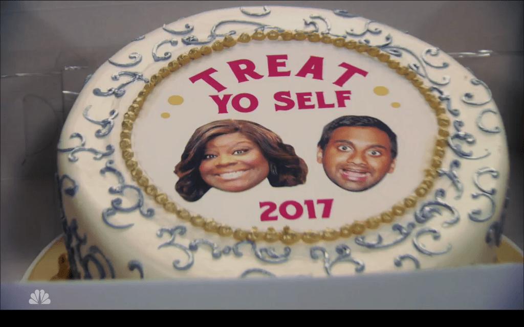 Treat Yo Self 2017 The Butler Of Honor Cake Pandr