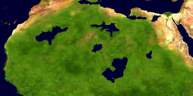 NASA Vegetation Index: Globe Continues Rapid Greening Trend, Sahara Alone Shrinks 700,000 Sq Km!