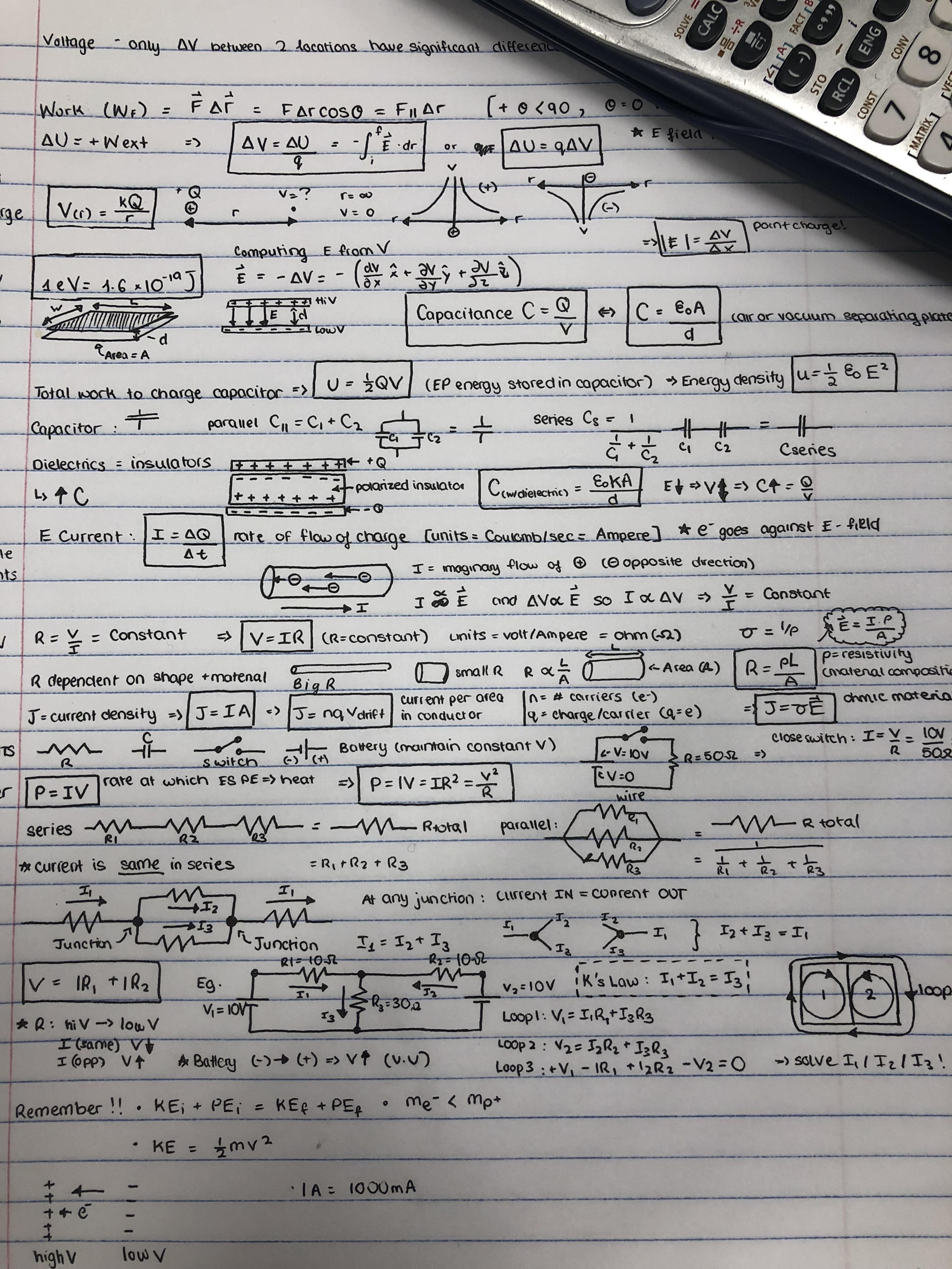 Spice Of Lyfe Physics Kinematics Equations Cheat Sheet