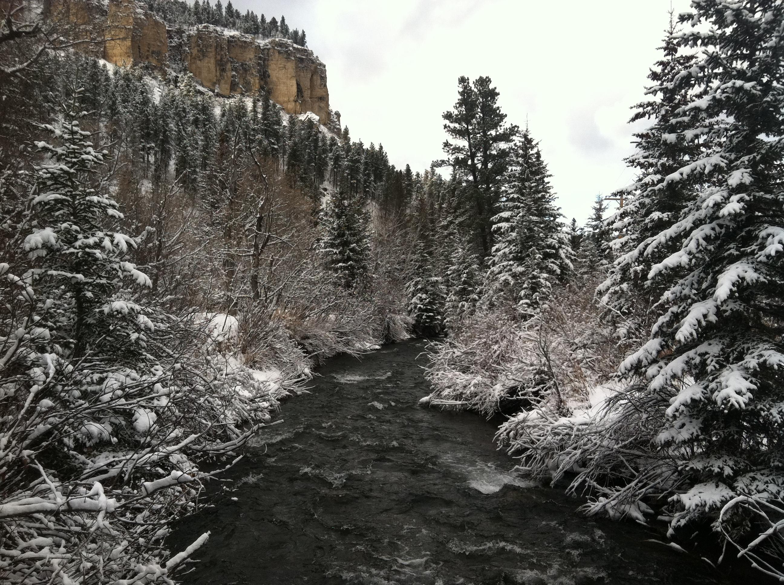 Spearfish Creek South Dakota Usa Oc X