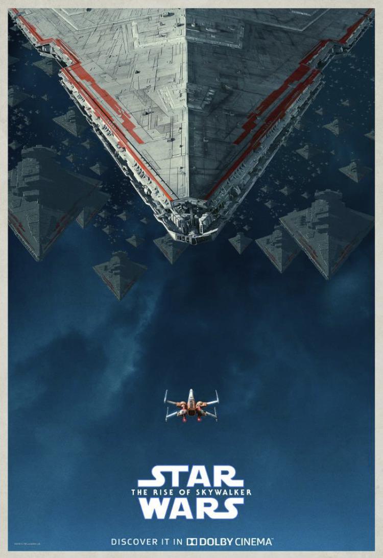 Image result for the rise of skywalker dolby cinema