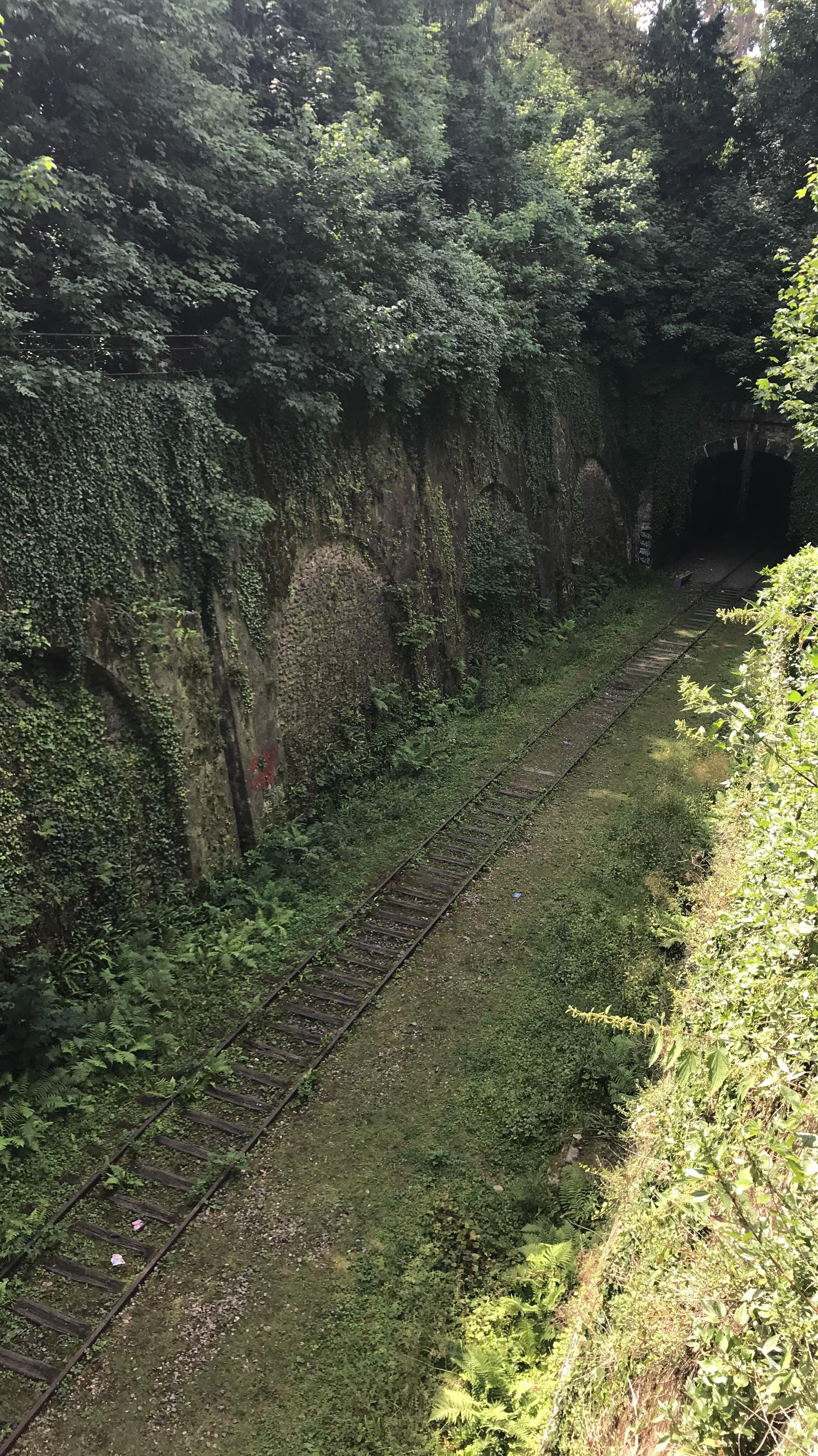 Abandoned Railway And Entrance To The Paris Catacombs OC