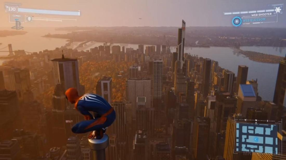A shot of all of New York City from Spider-Man PS4. They even got Avengers  Tower in the background! If Insomniac got that in the game, I'm hoping I  could also find