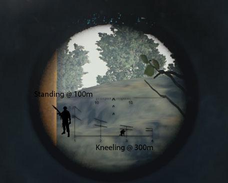 VSS Vintorez PSO 1 Scope Ranging Key PUBATTLEGROUNDS